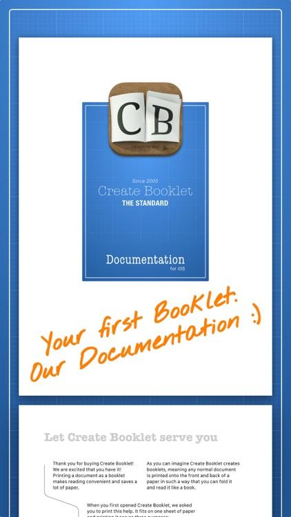 Create Booklet screenshot-3