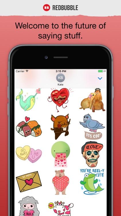 Digital Sticker All-stars: Valentines