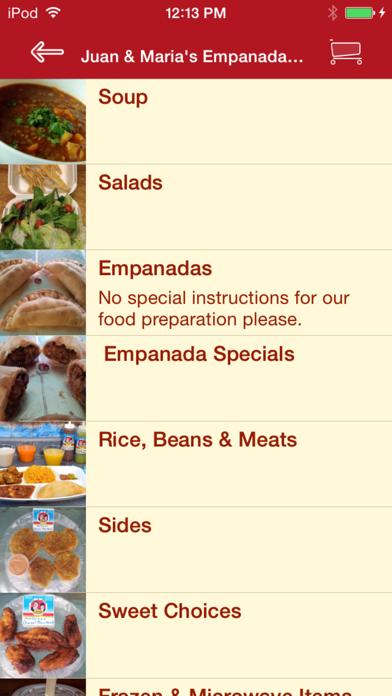 Juan & Maria's Empanada Stop screenshot two