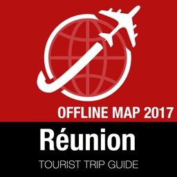 Réunion Tourist Guide + Offline Map