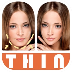 ‎Thin Camera - Insta Face Makeup Slim Skinny Photo