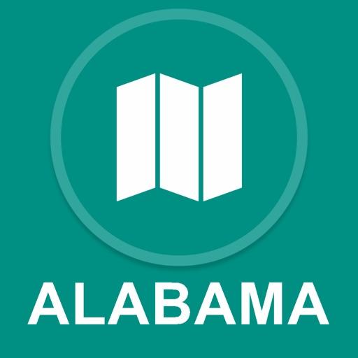 Alabama, USA : Offline GPS Navigation