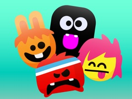 Express yourself with 16 fun and really cute ANIMATED emoticons Stickers on iMessage