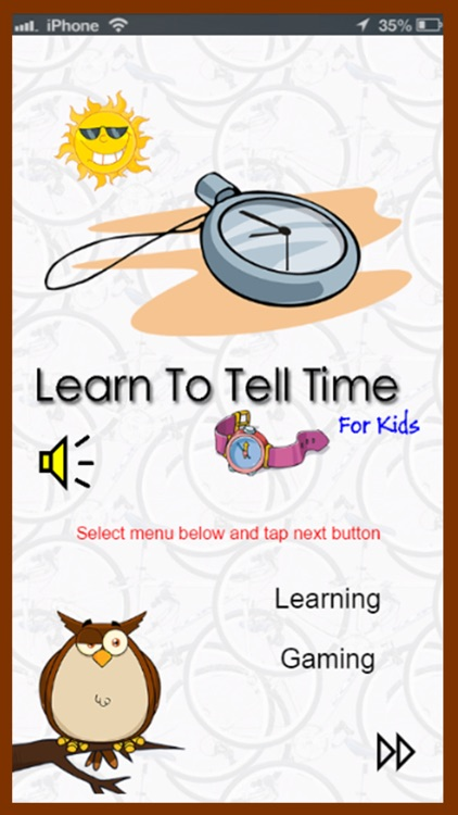 Learn To Tell Time For Kids screenshot-0