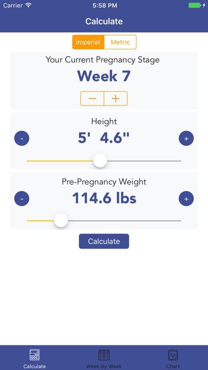 Pregnancy BMI - Weight Tracker