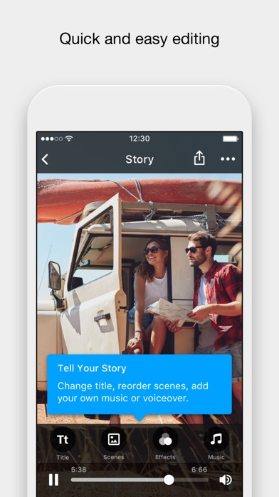 RealTimes: Video Maker app image