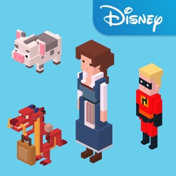 Disney Crossy Road with Beauty and the Beast
