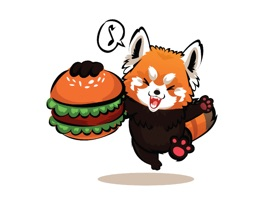 Red Panda Facial Expressions - Show your feelings with these stickers in an iMessage chat