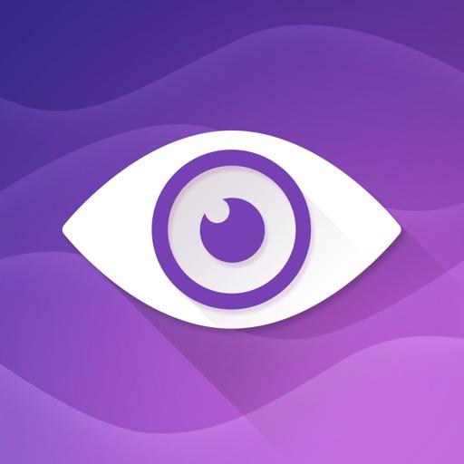 Purple Ocean Psychic Readings, Relationship Advice app logo