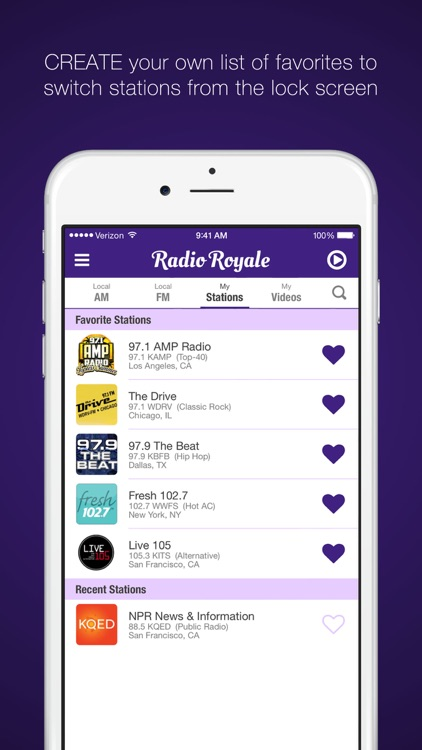 Radio Royale - Listen / Watch / Chat screenshot-3