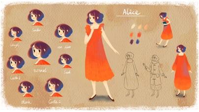 Alice in Wordland Screenshot on iOS