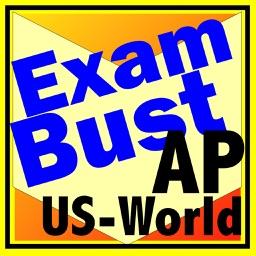 AP US & World History Prep Flashcards Exambusters
