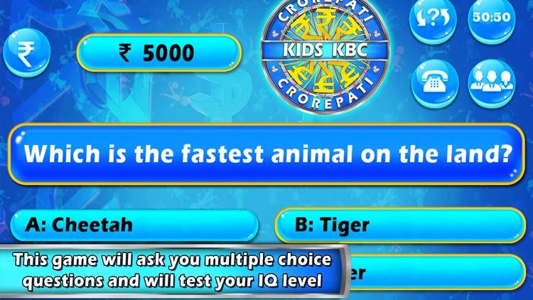 Kids KBC - Kids General Knowledge Quiz by Madhuri Barochiya