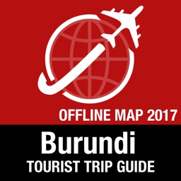Burundi Tourist Guide + Offline Map