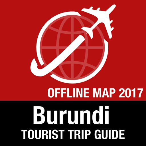 Burundi Tourist Guide + Offline Map