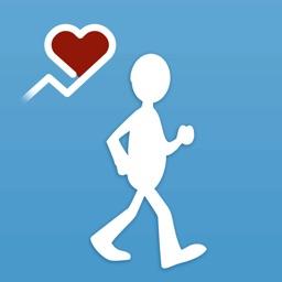 Walk with iWalker Tracker + Heart Rate