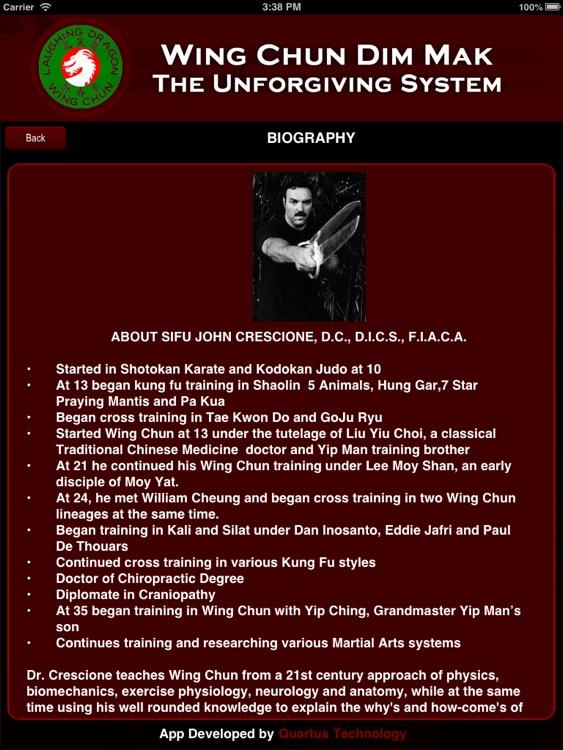 Wing Chun Dim Mak screenshot-4