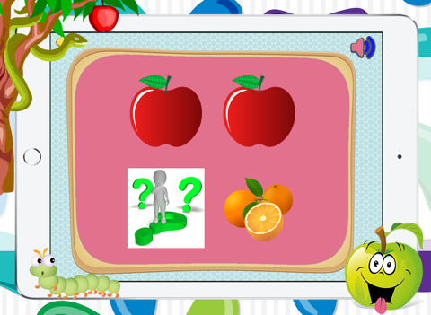 Fruits Flash Cards Matching Games For Toddler Boys - náhled