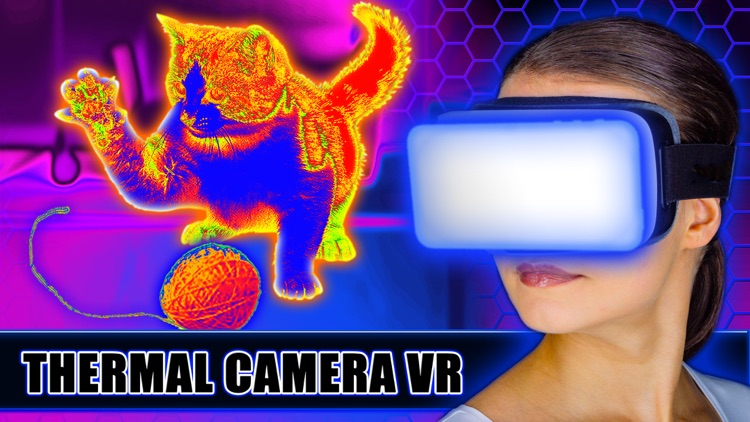 Virtual Reality - Thermal Camera prank