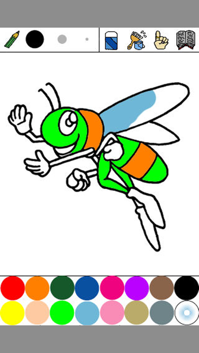 Insect Coloring for Kids : iPhone edition screenshot two