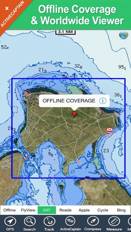 Djerba (Tunis) offline charts GPS map Navigator screenshot-4