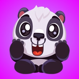 Lovely Funny Panda Stickers