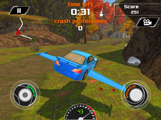 3D Flying Car VR Racing Simulator 2017 screenshot 7