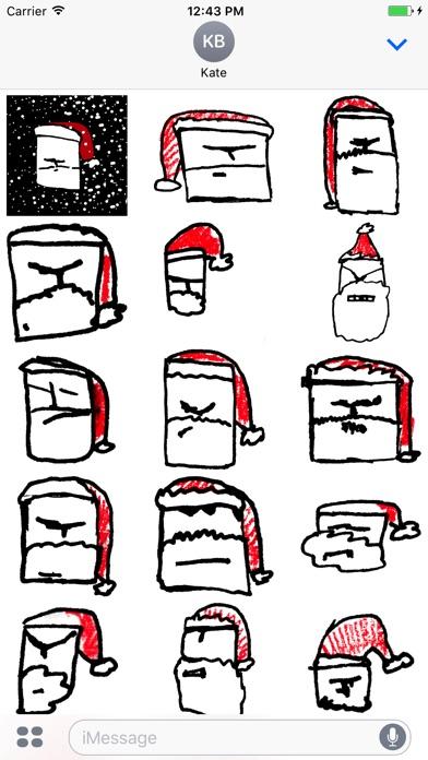 Grumpy Christmas Stickerpack-1