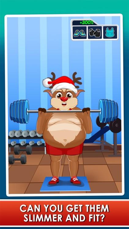 Santa Gets Fit for Christmas - Running Fat Games screenshot-4