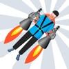 Tricky Jetpack - Mine field adventure