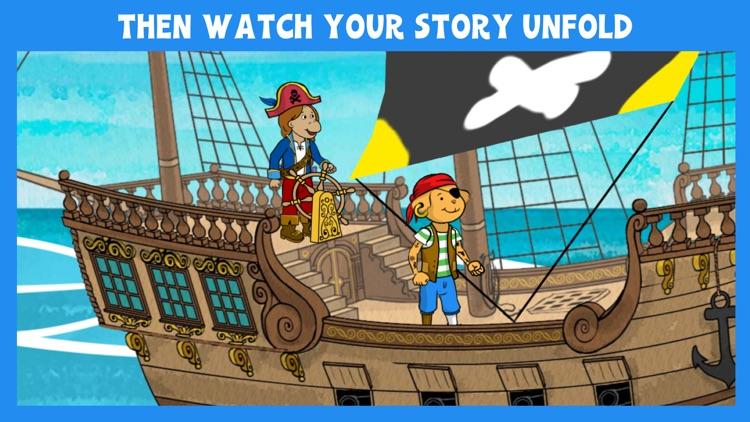 Arthur's Story Maker: Pirates – FREE Kids App screenshot-4