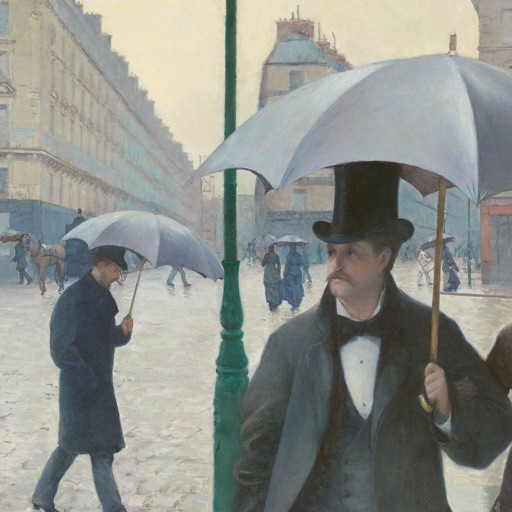 Gustave Caillebotte Artworks Stickers