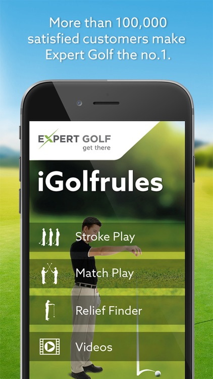 Expert Golf – iGolfrules screenshot-0