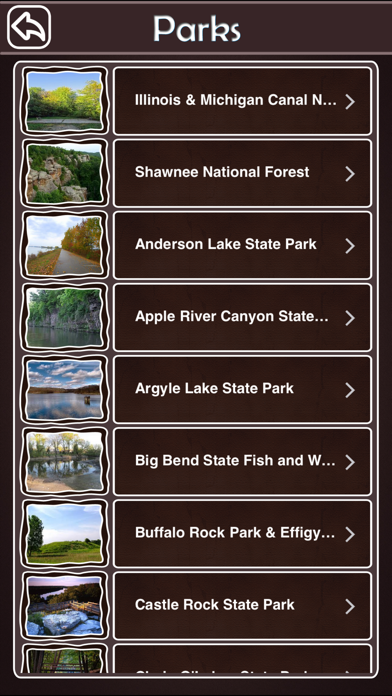 Illinois National & State Parks screenshot three