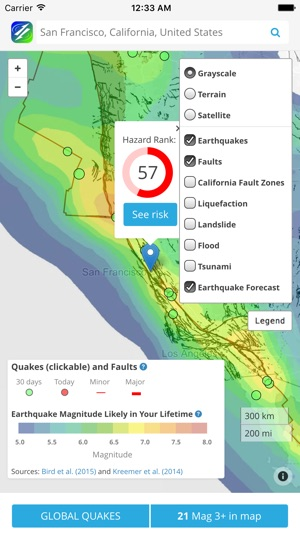 Temblor on the app store iphone ipad gumiabroncs Image collections