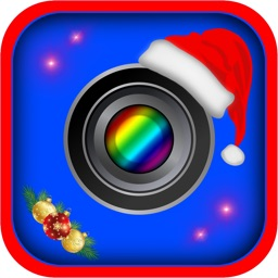 Merry Xmas Frames & Christmas Photo Stickers Booth