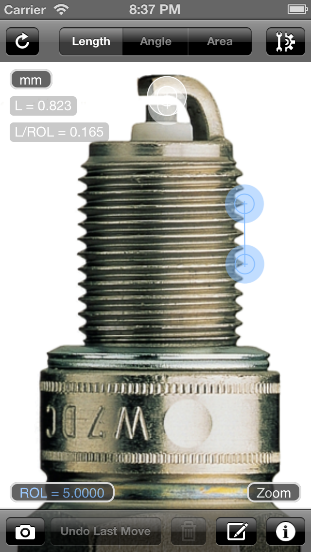 Partometer  - 写真に測定するための、のおすすめ画像2