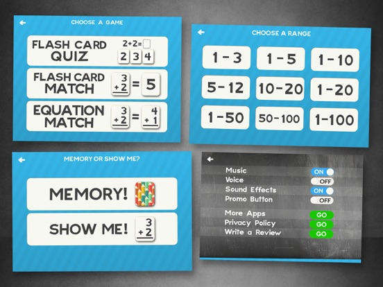 Addition Flash Cards Math Help Quiz Learning Games | App Price Drops