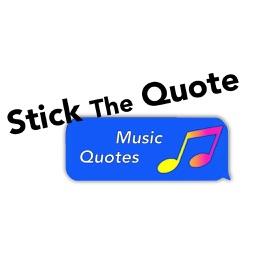 Stick The Quote: Music, Songs, Lyrics Quotes