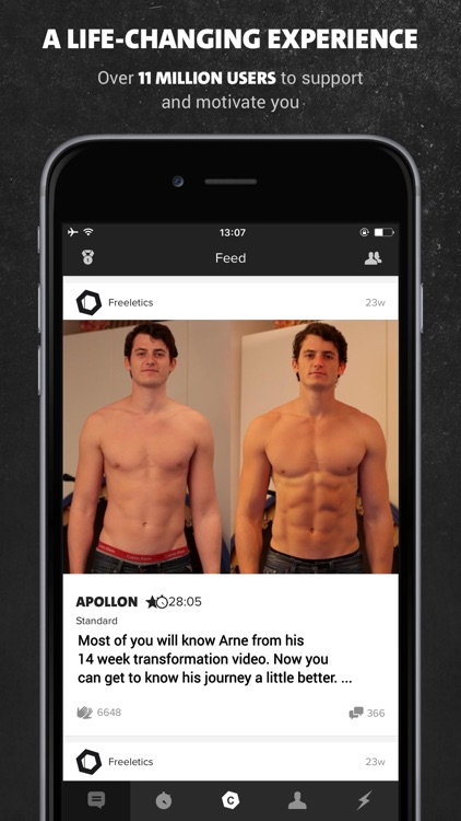 Freeletics Bodyweight - Workouts and Training app image