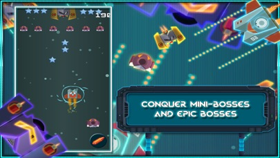 Space Attack Shoot the enemy to Defend your Ship screenshot two