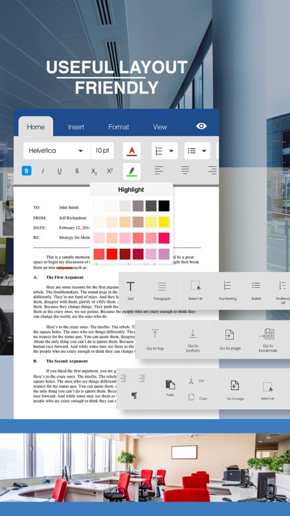 Quick Word Office - Word Processor Suite