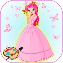 Peri Prenses Boyama çocuklar Okul öncesi Oyunu App Storeda