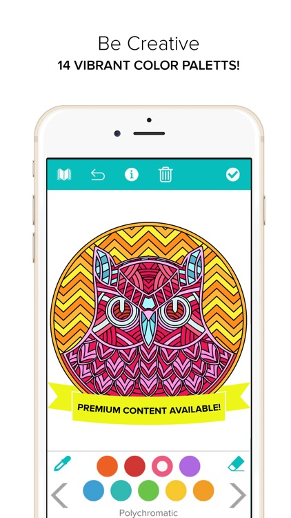 Coloring Book for Adults - Color Mandala screenshot-4