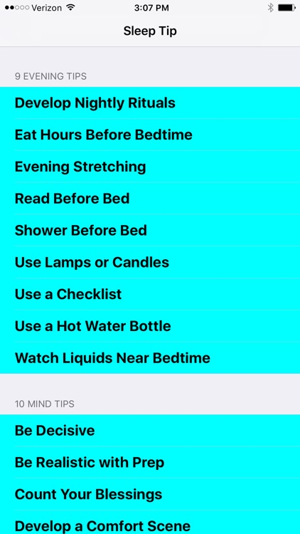 52 Best Sleep Tips