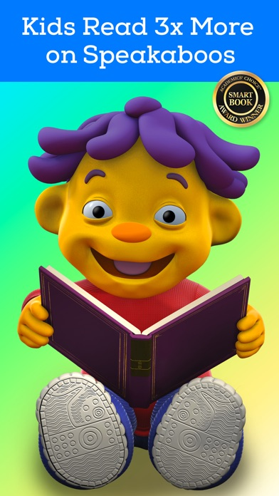 Speakaboos - The Reading and Learning App for Kids app image
