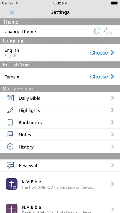 Bible :Holy Bible NASV - Bible Study on the go screenshot-4