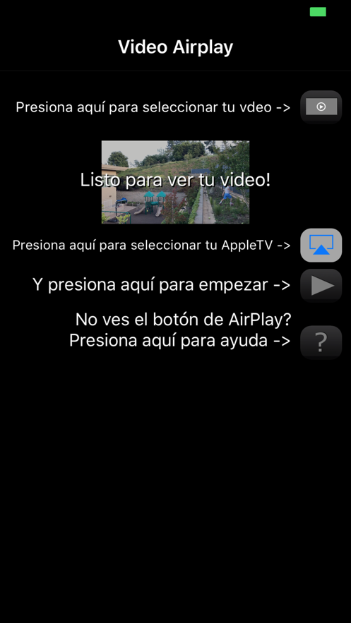 Quick AirPlay - Optimized for your iPhone videos App 截图