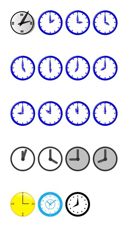 Clocks One Sticker Pack