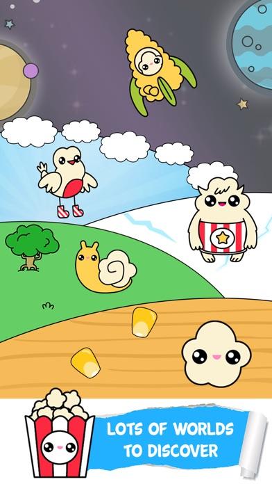 Popcorn Evolution Food Clicker
